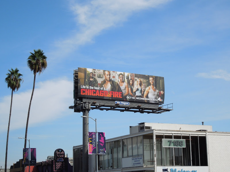 Chicago Fire season 1 billboard