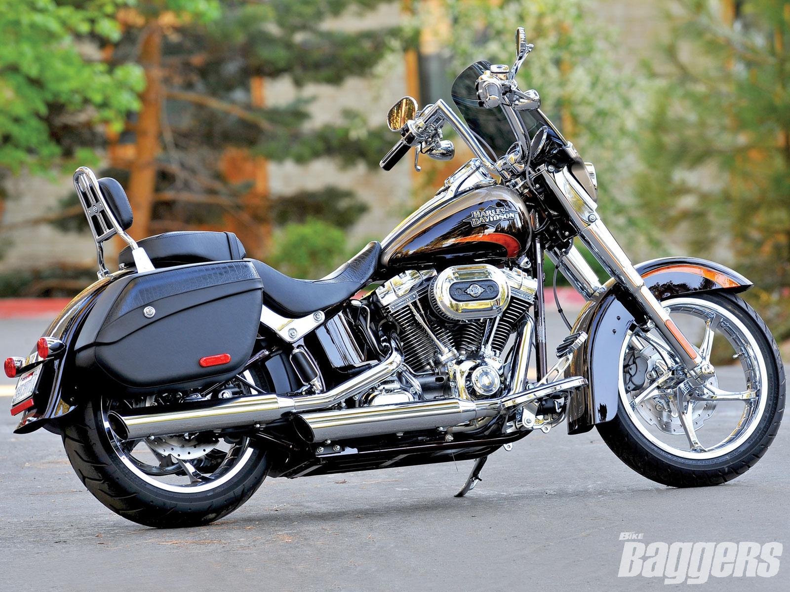 Harley Davidson: Harley Davidson Bikes: Harley Davidson FLSTSE CVO Softail