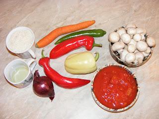 retete cu legume si orez, preparate din legume si orez, retete culinare,
