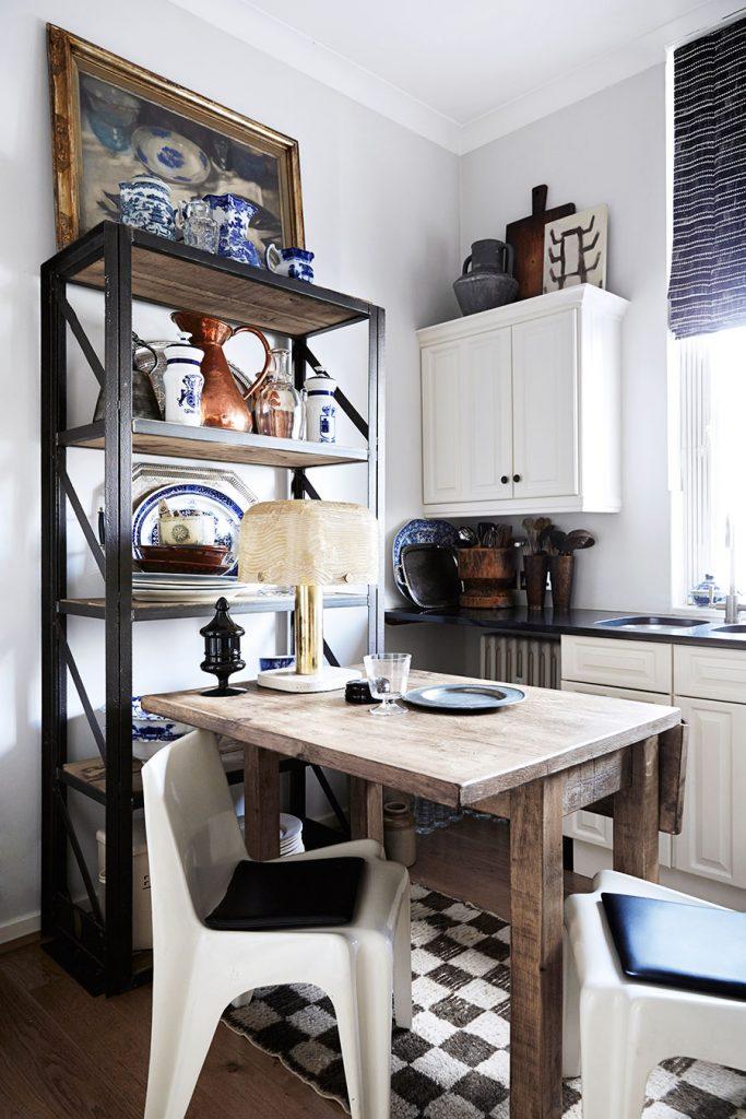 Chez Malene Birger à Londres - cuisine