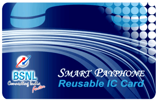 BSNL to launch Smart Card Payphone (Smart PCO) Service in Kerala, Karnataka and Andhra Pradesh circles