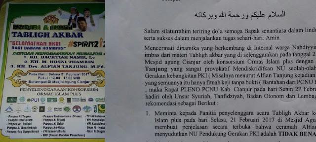 Tak Beradab, Alfian Tanjung Fitnah NU sebagai Pendukung PKI