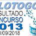 Resultado da Lotogol concurso 1013 (13/09/2018) ACUMULOU!!!