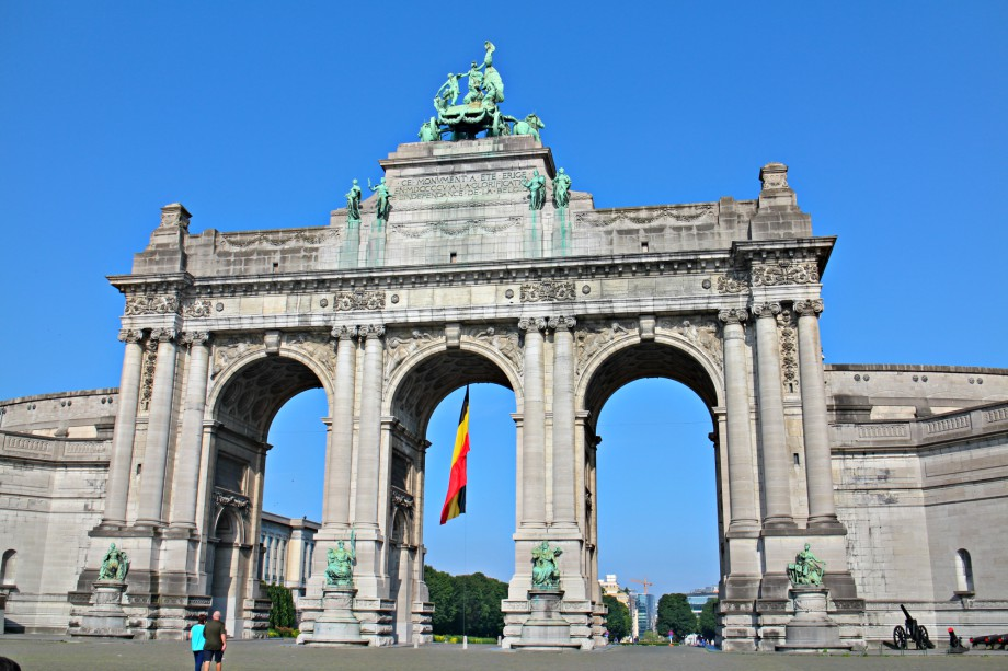 parque-cincuentenario, arco-de-triunfo, bruselas