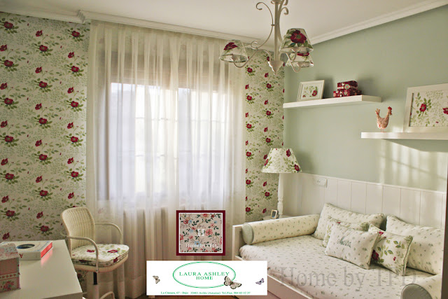 El dormitorio de Marina - Flores Ella - Home by TPD - Laura Ashley Asturias