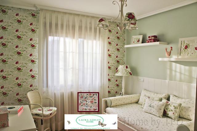 El dormitorio de Marina - Flores Ella - Home by TPD - Laura Ashley Asturias