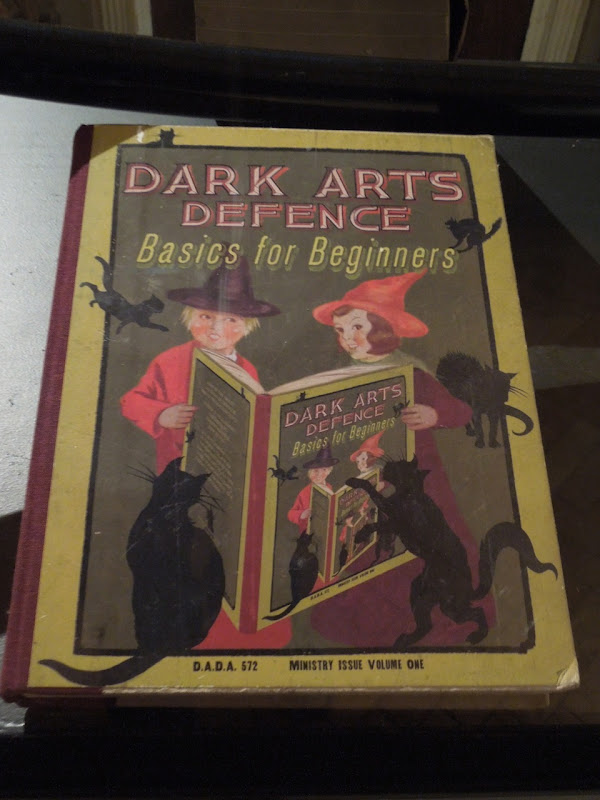 Dark Arts Defence book prop