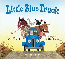 Little Blue Truck book activity