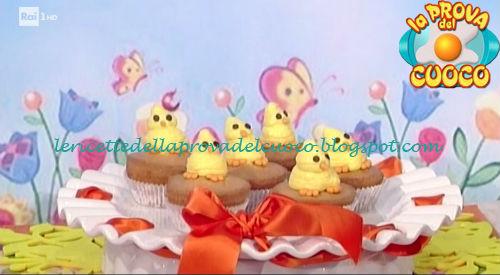 Ricetta del Pulcino cupcake da La Prova del Cuoco