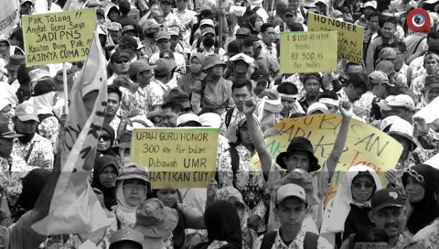 Tak Kunjung Jadi PNS, Honorer K2 Merasa Dijajah Penguasa