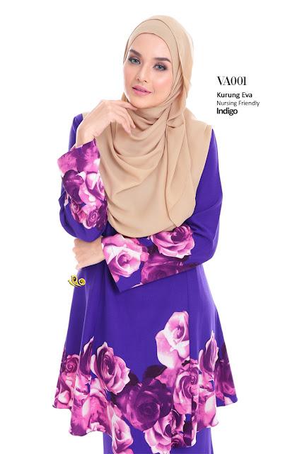 baju kurung raya eva 2016