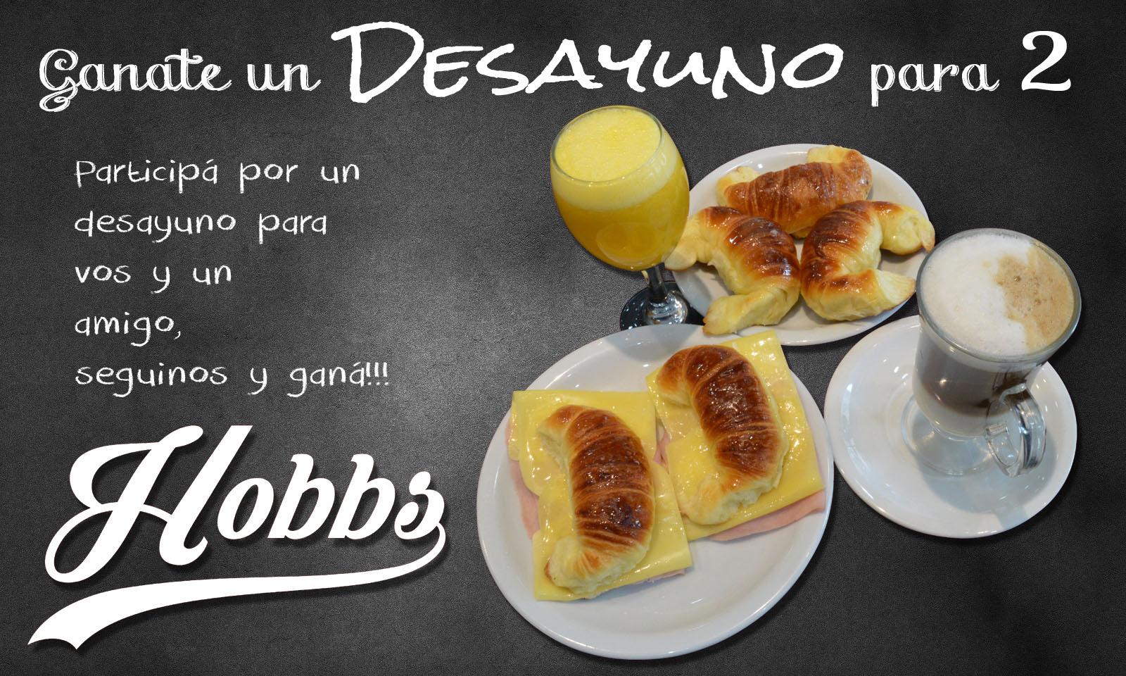 Ganate un desayuno para 2 personas en Hobbs
