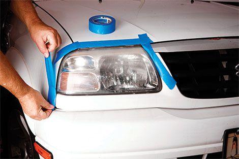 comment nettoyer les phares de voiture en plastique