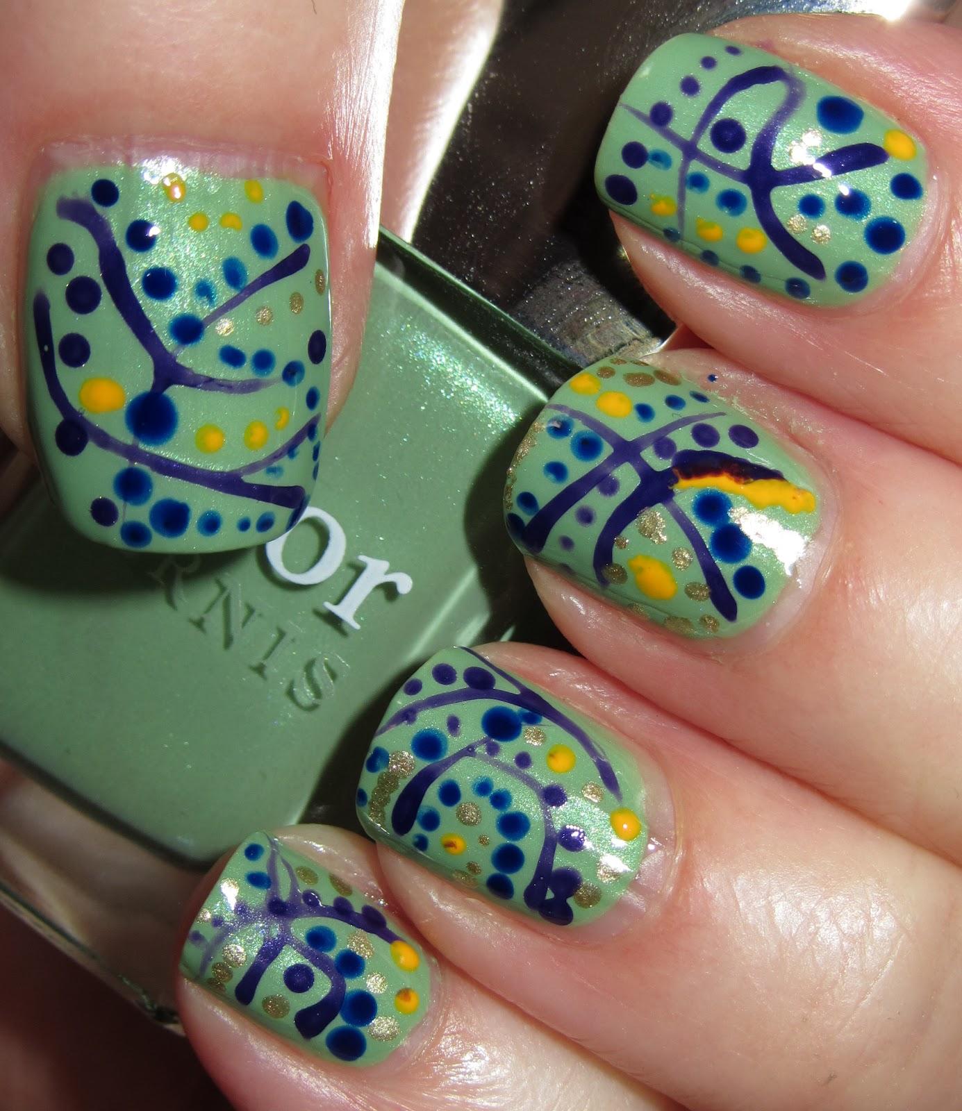 Marias Nail Art And Polish Blog Less Is More Failed Mani