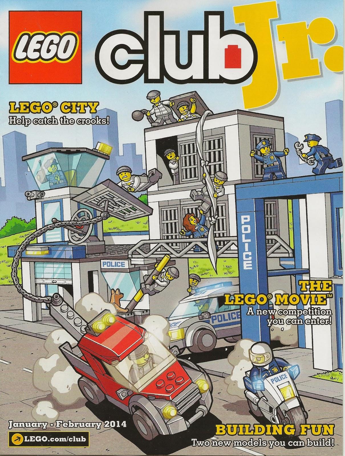 lego club jr magazine jan feb 2014 city chima creations. Black Bedroom Furniture Sets. Home Design Ideas