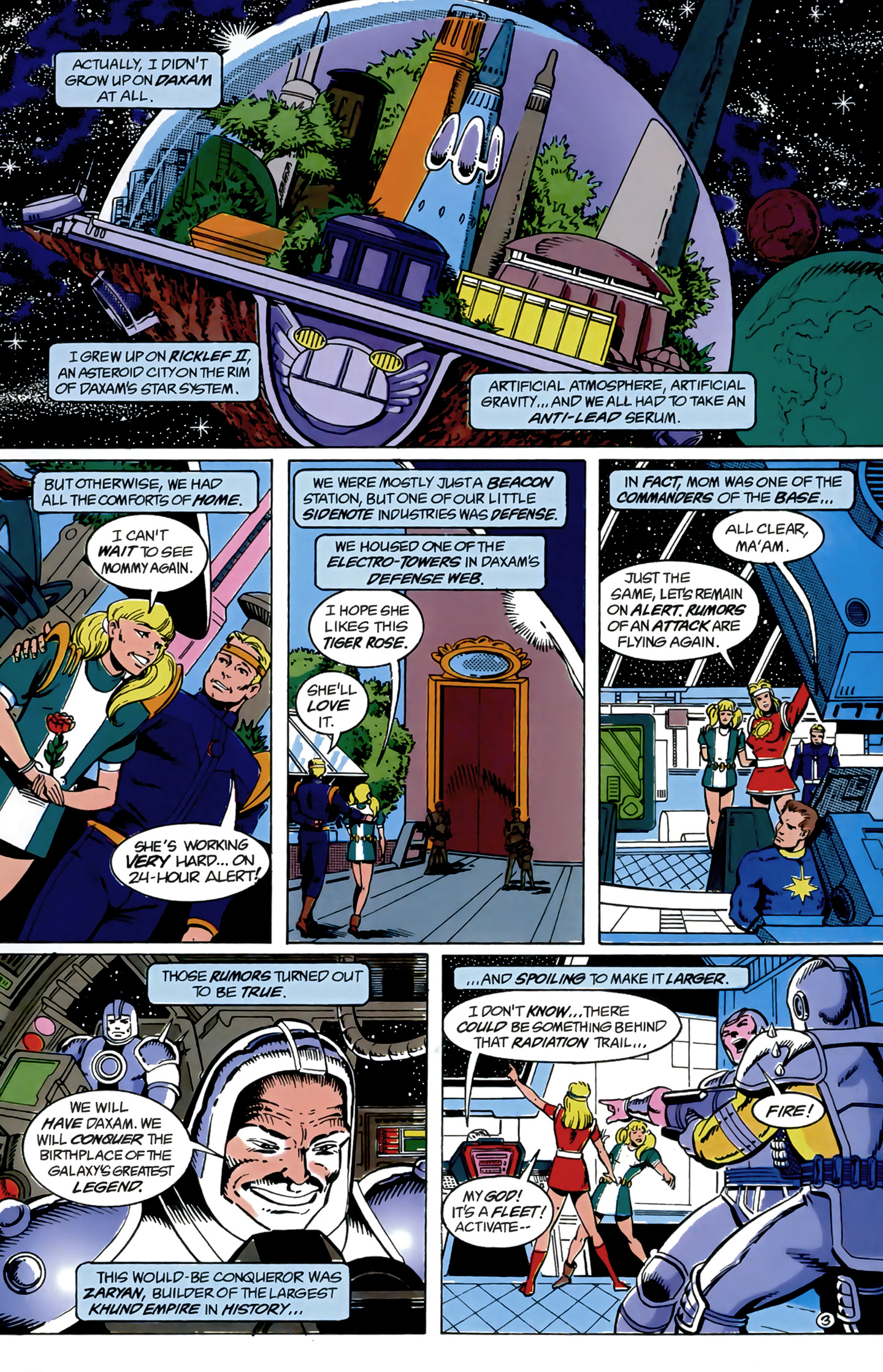 Legion of Super-Heroes (1989) 9 Page 3