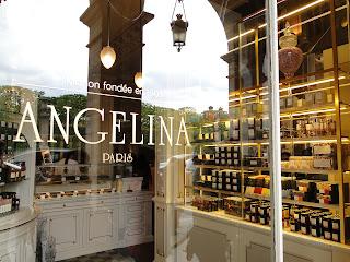 Angelina Tea Room Hk