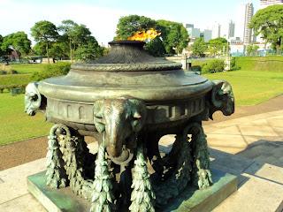 Pira no Monumento à Independência do Brasil, São Paulo