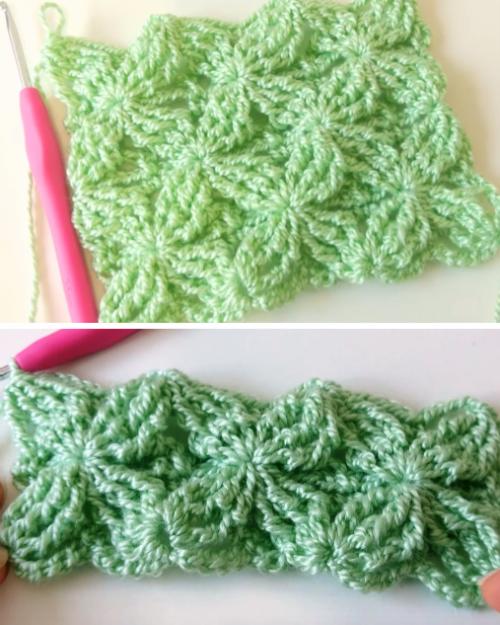 How To Crochet Fantasia Stitch - Tutorial