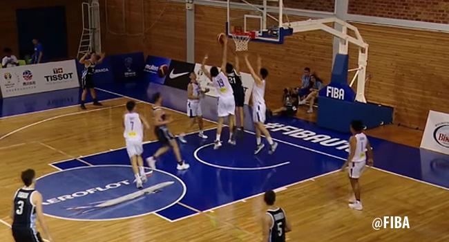 Kai Sotto's BLOCK Party vs. Argentina (VIDEO) 6 blocks, 17 points, 8 rebounds