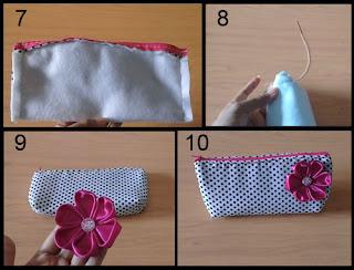 Gambar Cara Membuat Pencil Case/ Dompet Pensil Part 2