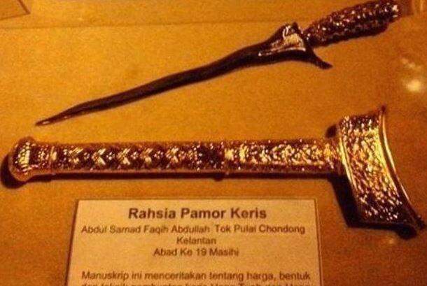 Manuskrip Tok Pulai Chondong Bongkar Rahsia Keris Tuah Dan Jebat