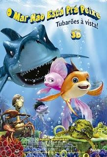 baixar capa O Mar Não Está prá Peixe   Tubarões à Vista!   DVDRip AVI Dual Áudio + RMVB Dublado