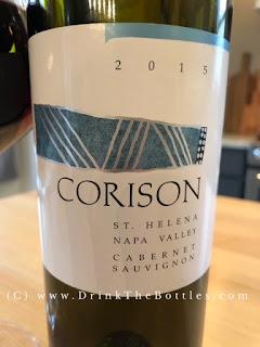 2015 Corison Napa Valley Cabernet Sauvignon Label