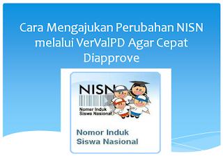 Cara Mengajukan Perubahan NISN melalui VerValPD Agar Cepat Diapprove