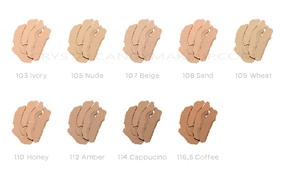 Clarins Everlasting+ Compact Foundation Review Photos Swatches