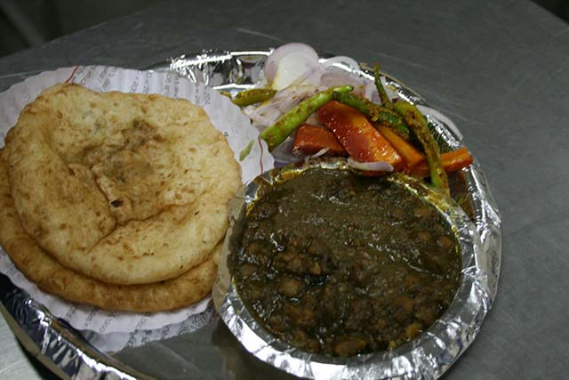 Chole Bhature in Delhi