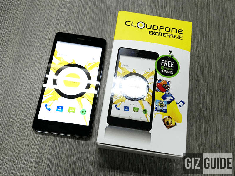 Quick CloudFone Excite Prime review