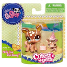 Littlest Pet Shop Mommy & Baby Deer (#2500) Pet