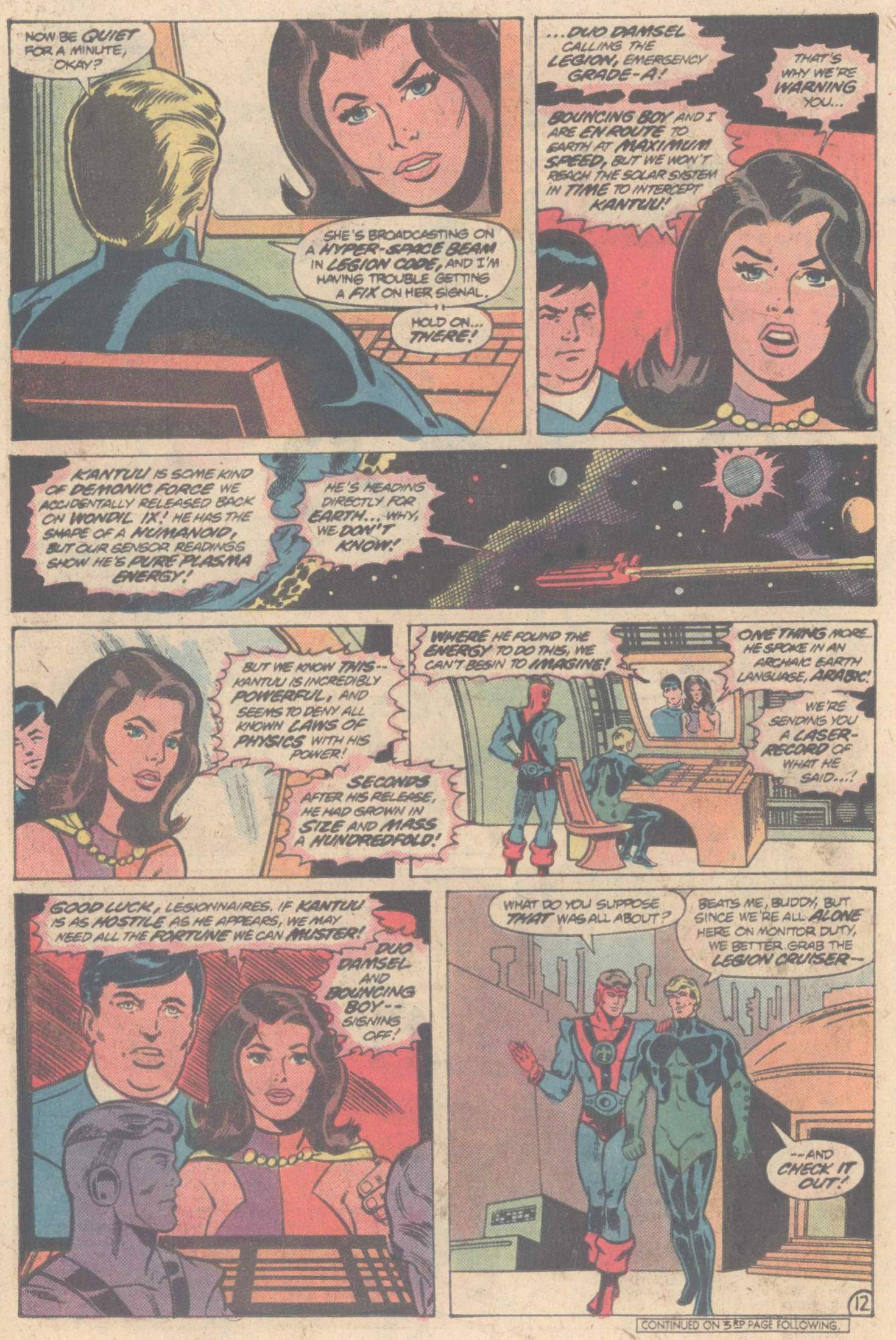 Legion of Super-Heroes (1980) 266 Page 20