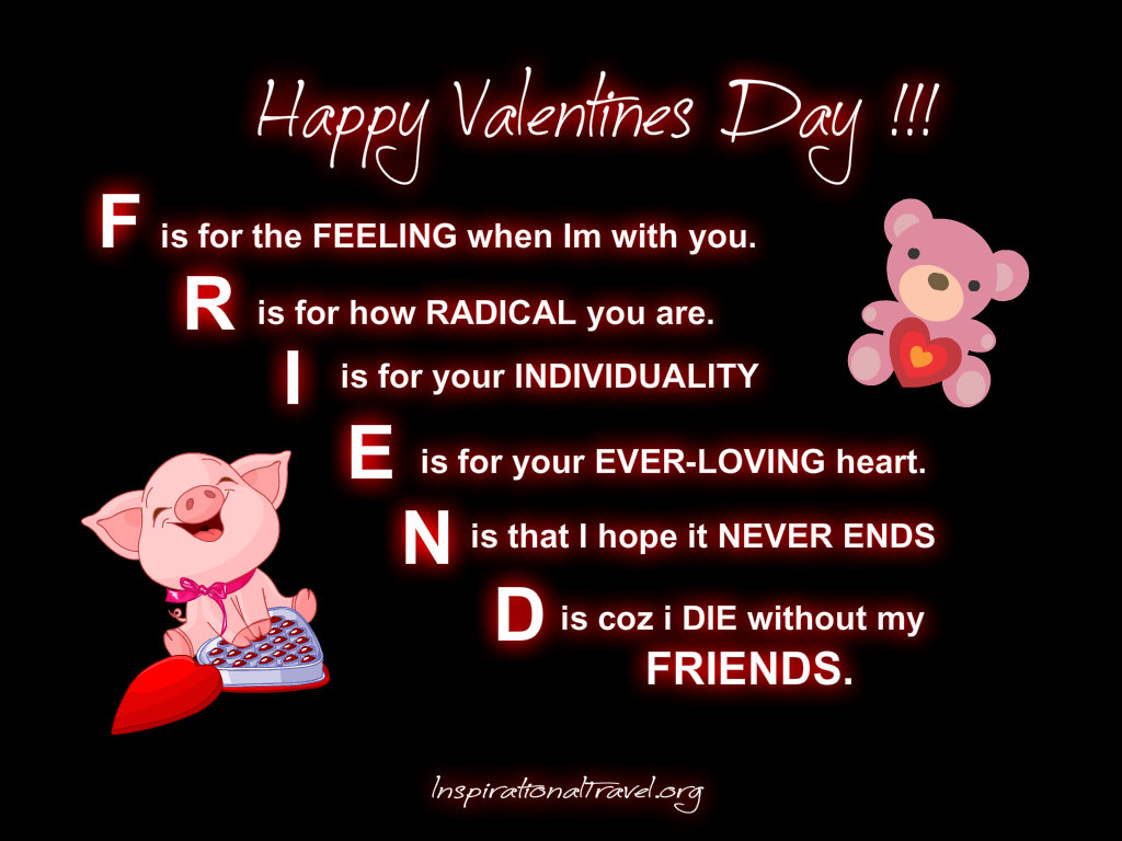Happy valentine friend message valentines day info happy valentine friend message kristyandbryce Image collections