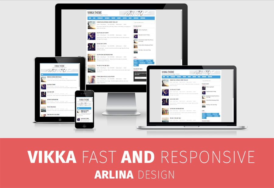 Vikka Blogger Theme