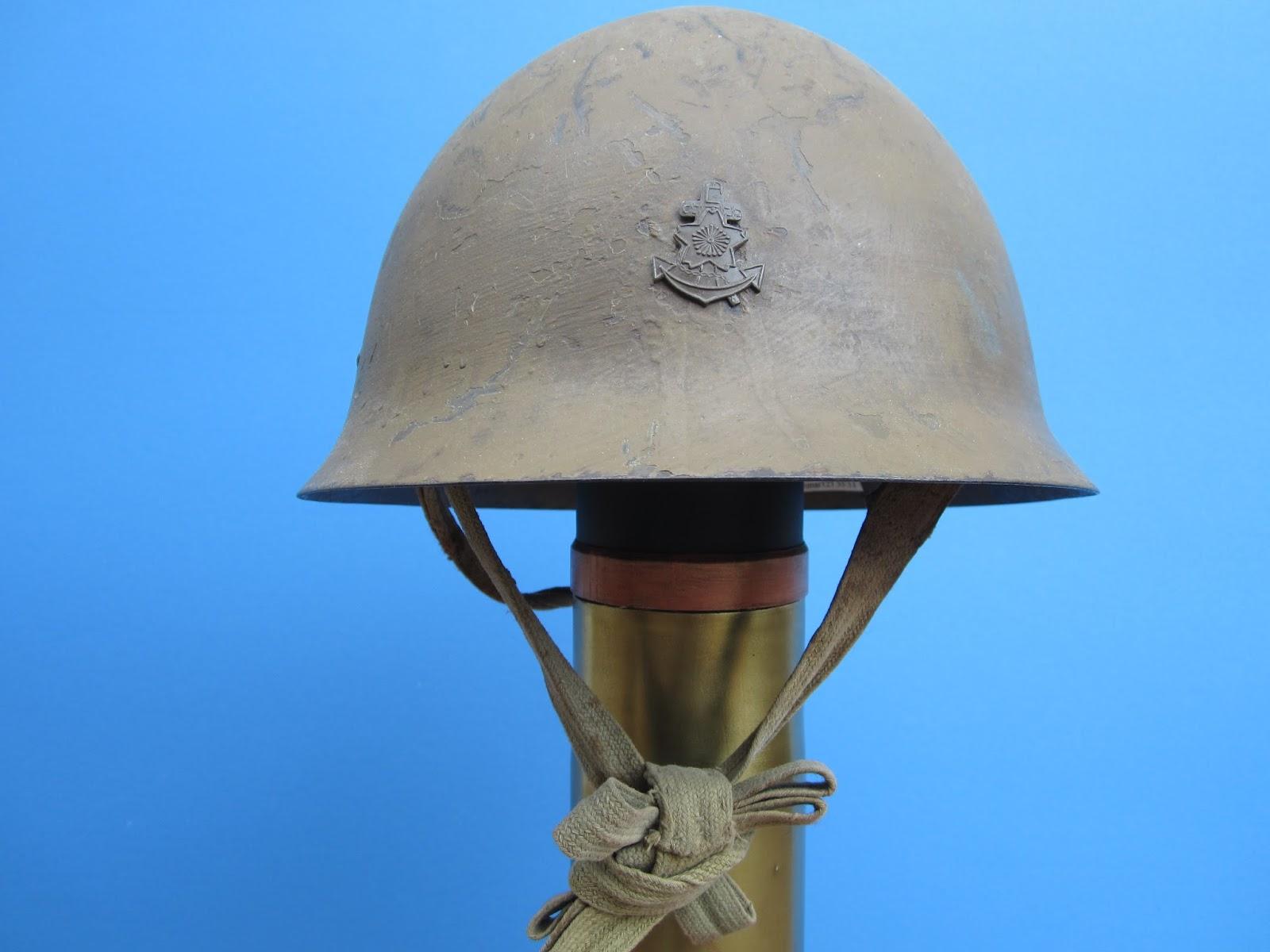 Mannie Gentile: Combat Helmets of the 20th Century: Japan: model 30