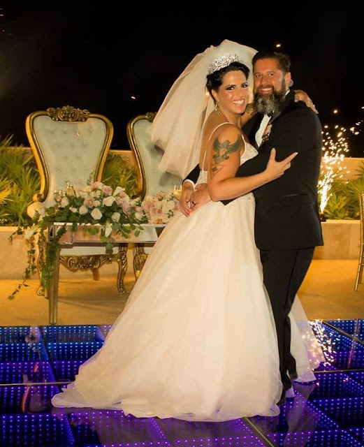 Celebrity Writer, Mylo Carbia, Weds U.S. Navy War Hero, Kurt Lund, in Playa Mujeres, Mexico on September 16, 2018