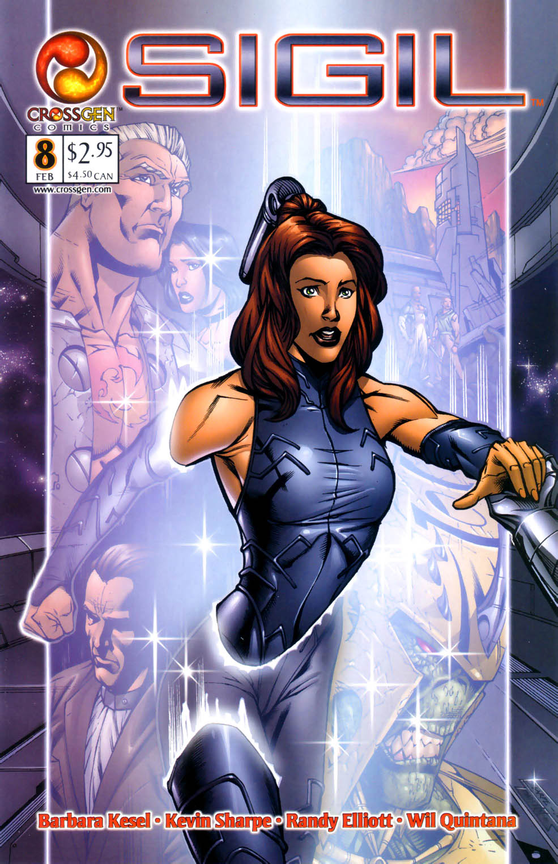 Read online Sigil (2000) comic -  Issue #8 - 1