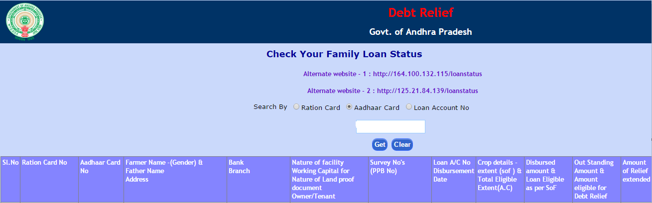 AP Rythu Runa Mafi 1st 2nd List Crop Loans Gold Loans Declared Selected & Rejected list Check Loan Status Online at apcbsportal.ap.gov.in