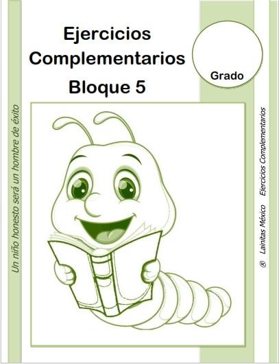 Bloque 5 Material Educativo Primaria