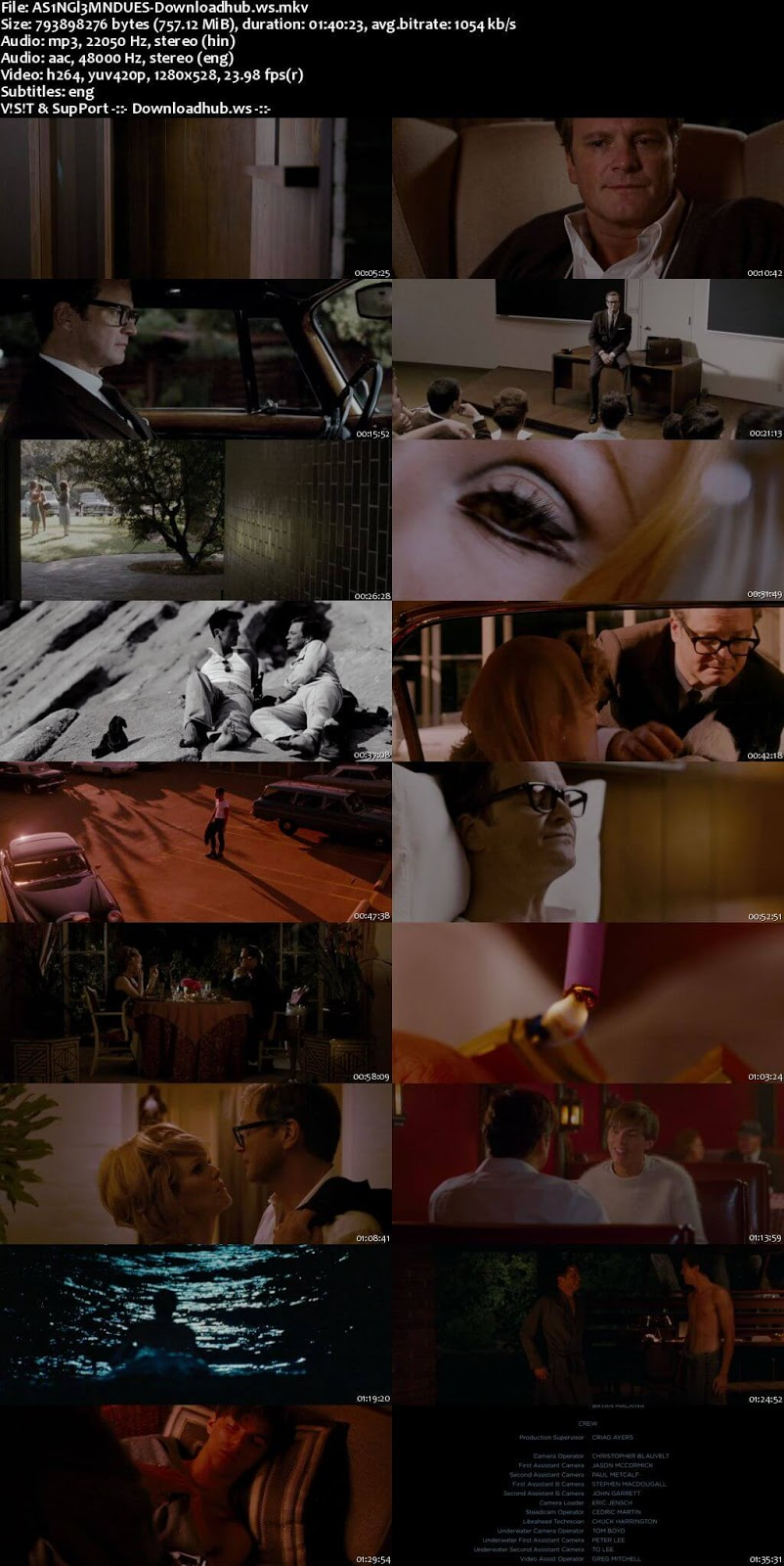 A Single Man 2009 Hindi Dual Audio 720p BluRay Free Download