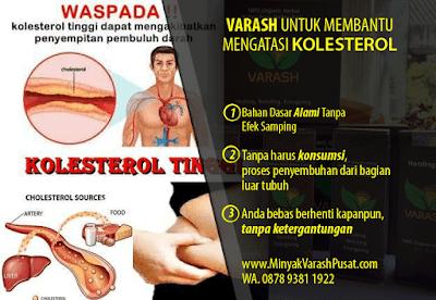 minyak Varash untuk Kolesterol tinggi