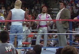 WWF / WWE ROYAL RUMBLE 1988 - HULK HOGAN / TED DIBIASE / ANDRE THE GIANT