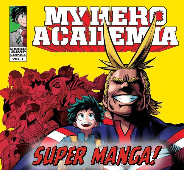 Super Manga! My Hero Academia - The Fifth World