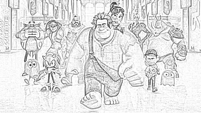 Coloring Pages Ralph Breaks The Internet Coloring Pages Free And