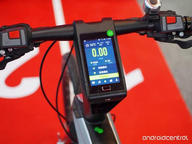 Le Syvrac, la bicicleta con Android que tiene 4GB de RAM