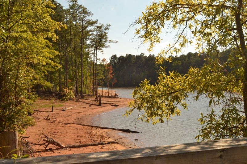 falls lake, lake, durham, north carolina, caroline du nord, etats-unis, expatriation
