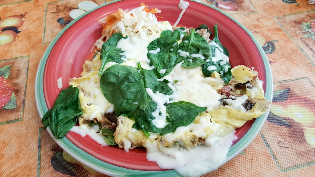 Morning at Maggies Omelette Shoppe - Create Your Own Frittata