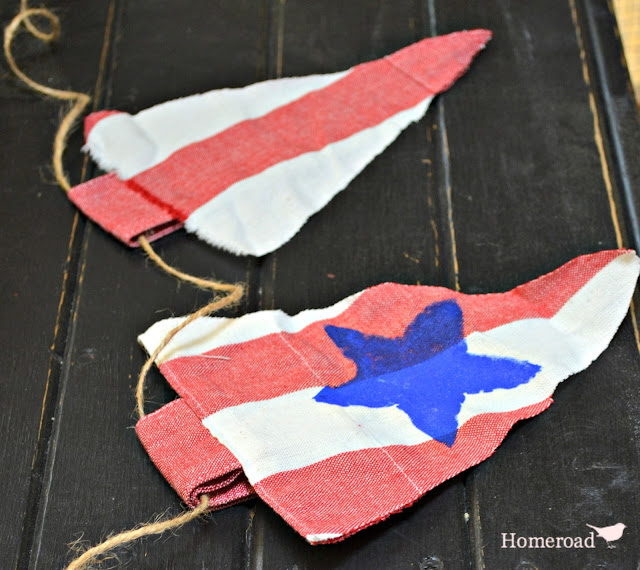 Americana DIY Flags for the Fourth